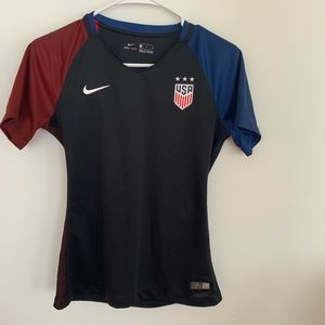 Nike USA Dri fit Black Shirt Size S